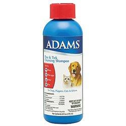 Farnam Pet - Adams Flea & Tick Cleansing Shampoo 6 Ounce