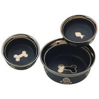 Ethical Pet Ritz Copper Rim Dog Dish