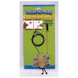 Ware Mfg. Inc. Ware Mfg Twist-N-Play Natural Cat Toy