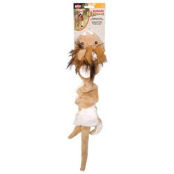 Ethical Pet Bungee Skinneeez Dog Toy Lion