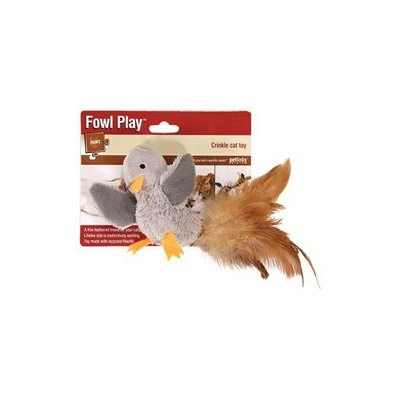 Worldwise Inc Fowl Play Crinkle Cat Toy