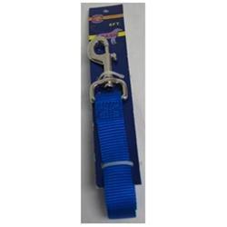 Hamilton Pet Company - Nylon Lead With Snap Card- Blue 1 X 6 - C SLO 6BL