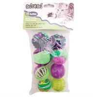 Ourpet's Company Ourpets Company 090034 Medium Rollin In Fun 8 Piece Multipk