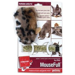 Worldwise Inc Petlinks Mousefull Refillable Catnip Toy (4