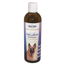 Durvet Naturals Tar and Aloe Dog Shampoo in Blue - 17 oz.