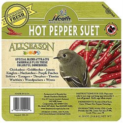 Heath Manufacturing Heath Mfg Co Hot Pepper Wild Bird Suet Cake