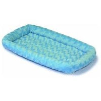 Midwest Container Fashion Pet Bed Powder 24x18 Inch - 40224-PB