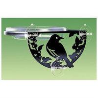 Droll Yankees SIL-W Window-Mount Songbird Feeder