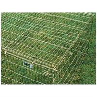Midwest Container Wiremesh Top For Exercise Pen black 4x4 Foot - 540-WM