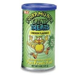8in1 Kookamunga Catnip Treats, Chicken Flavor,5 oz.