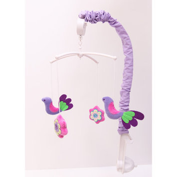 Ticklicious by Bacati Bacati Botanical Musical Mobile, Purple