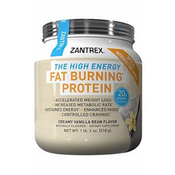 Zantrex High Energy Fat Burning Protein, Vanilla, 1.4 Pound