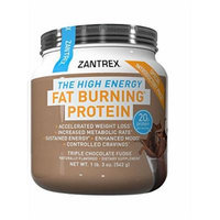 Zantrex High Energy Fat Burning Protein, Chocolate, 1.4 Pound