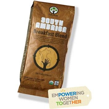 Full Circle Exchange Organic South American Breakfast Blend Medium Roast Whole Bean Coffee