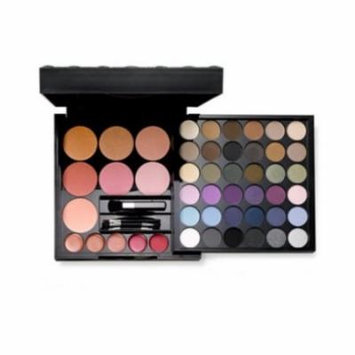 Impulse Large Color Palette with 52 colors, Eye Shadows, Blush, Lip Gloss
