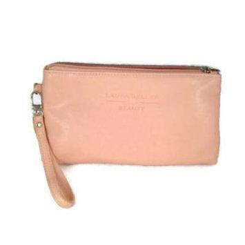Laura Geller Pink Wristlet Cosmetic Makeup Bag