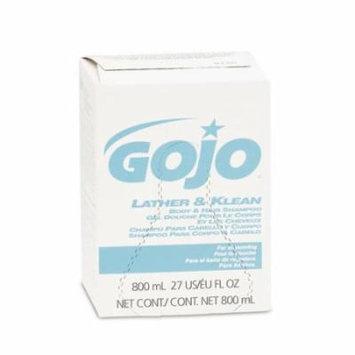 GO-JO INDUSTRIES GOJO Lather & Klean Body & Hair Shampoo Refill