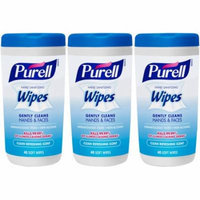 Purell Clean Refreshing Scent Hand Sanitizing Wipes, 40 sheets, (Pack of 3)