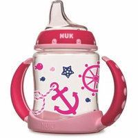 NUK Nautical Learner Cup, 5 oz, Girl Colors
