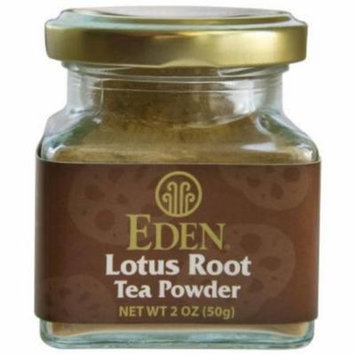 Eden Lotus Root Tea Powder, 2 oz, (Pack of 3)