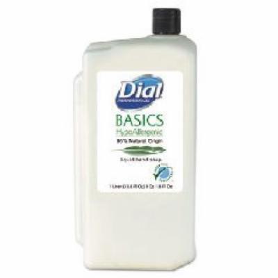 Basics Hypoallergenic Liquid Soap, Rosemary & Mint, 1 Liter Refill