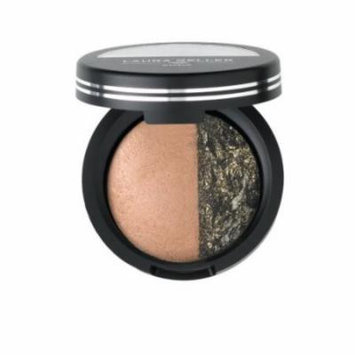 Laura Geller Baked Sateen Eye Shadow & Eye Rimz, Praline/Bewitching Bronze