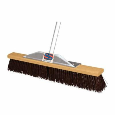 The Super Sweeper Push Broom Rough Surface Aluminum