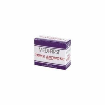 MEDIQUE 22373 Triple Antibiotic Ointment, 0.5g, PK 25