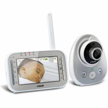 VTech Safe VM342 Expandable Digital Video Baby Monitor with Camera and Automatic Night Vision