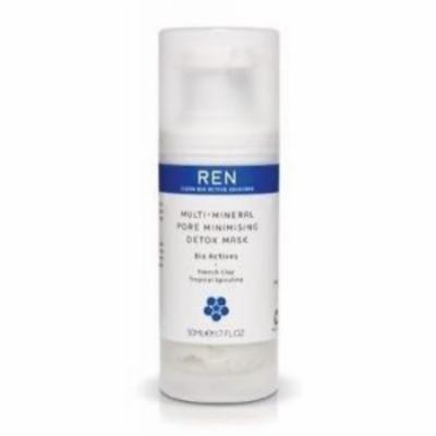 REN Multi Mineral Detoxifying Facial Mask, 1.7 Oz