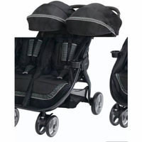 Graco FastAction Fold Duo Click Connect LX Stroller, Pierce