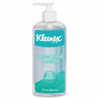 Kleenex Instant Hand Sanitizer - Citrus Scent - 8 oz - Kill Germs - Hand - Clear - Antimicrobial - 12 / Carto KCC93060CT