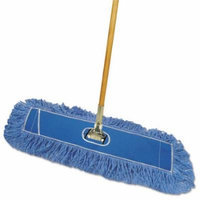 Looped-End Dust Mop Kit, 24 x 5, 60