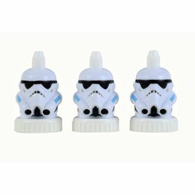 good2grow spill-proof bottle toppers 3-pack, Stormtrooper