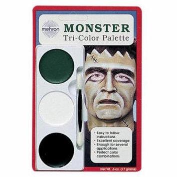 Mehron Monster Tri Color Palette