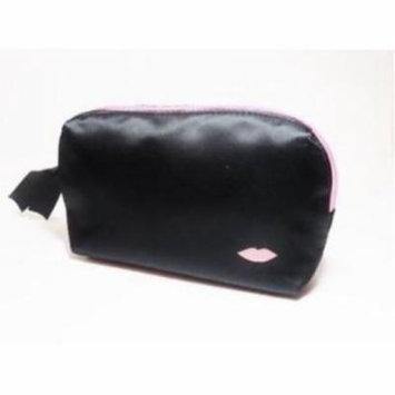 Laura Geller Pink and Black Cosmetic Makeup Bag