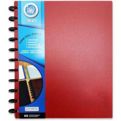 IQ 360 Solid PP Large Notebook, 60ct
