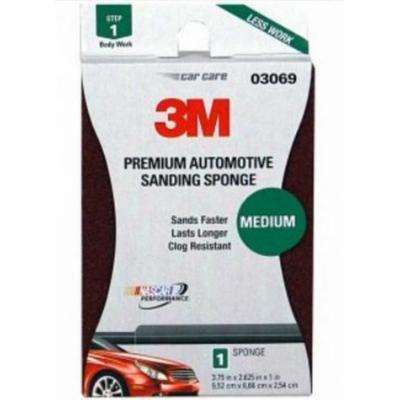 3M Performance Sanding Sponge - Easy Surface Preparation, 100 Grit 03069
