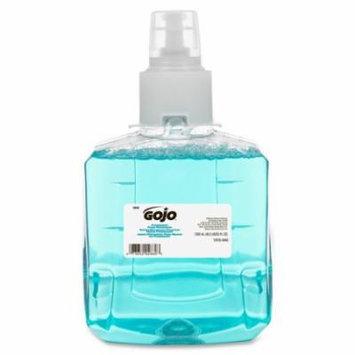 Gojo LTX-12 Pomeberry Foam Handwash Refill - Pomeberry Scent - 40.6 fl oz (1200 mL) - Hand - Clear Blue - Mo GOJ191602CT
