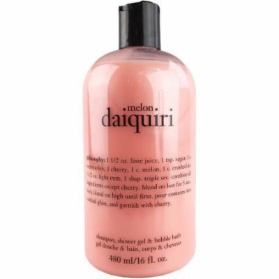 Philosophy Melon Daiquiri Shampoo, Shower Gel & Bubble Bath, 16 fl oz