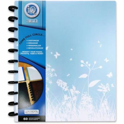 IQ 360 1C Opaque PP Large Notebook, 60ct