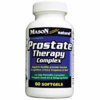 Mason Natural Prostate Therapy Complex Dietary Supplement Softgels - 60 Ea