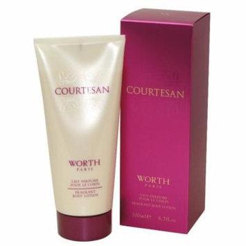 Courtesan Fragrant Body Lotion 6.7 Oz / 200 Ml for Women by Worth