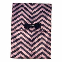 MAC Pink and Black Chevron Makeup Cosmetic Bag