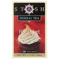 Stash Premium Tea Herbal Tea, Red Velvet, 18 bags