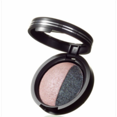Laura Geller Baked Sateen Eye Shadow & Eye Rimz, Fresco Pink/Mystic Sea