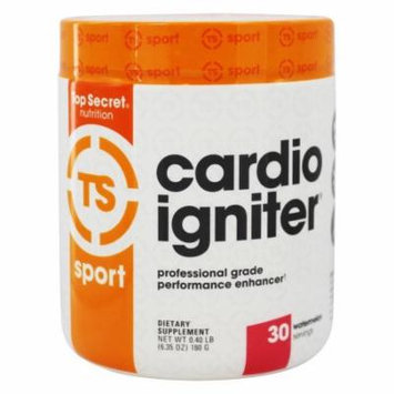 Top Secret Nutrition - Cardio Igniter Professional Grade Performance Enhancer Watermelon - 6.35 oz.