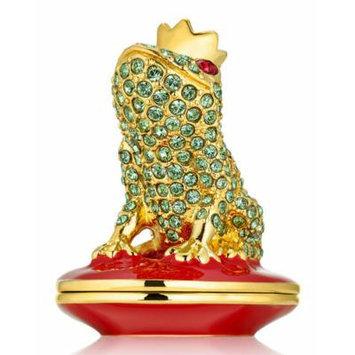 Estée Lauder Pleasures Loving Frog Solid Compact Collectable