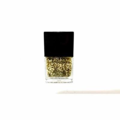 3 Material Girl Gold Glitter Nail Polish, Golden Glam