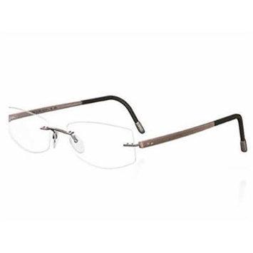 Silhouette Eyeglass ZENLIGHT Brown Breath 7752-6073
